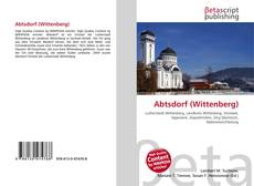 Bookcover of Abtsdorf (Wittenberg)