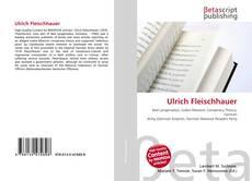 Borítókép a  Ulrich Fleischhauer - hoz