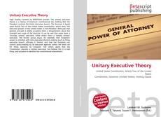 Unitary Executive Theory kitap kapağı