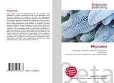 Bookcover of Physiome
