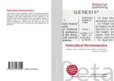 Bookcover of Talmudical Hermeneutics