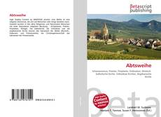 Bookcover of Abtsweihe