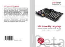 Bookcover of X86 Assembly Language