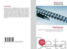 Bookcover of Trial (Law)