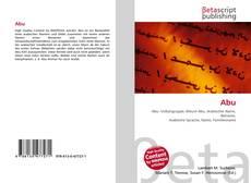 Bookcover of Abu