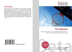Capa do livro de Tim Duncan