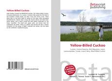 Bookcover of Yellow-Billed Cuckoo