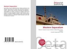 Western Separatism kitap kapağı