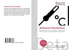 Bookcover of Resistance Thermometer