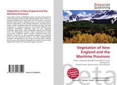 Обложка Vegetation of New England and the Maritime Provinces
