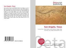 Buchcover von San Angelo, Texas