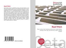 Bookcover of Roof Pitch