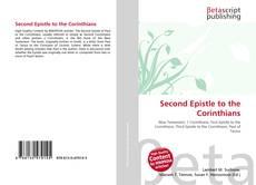 Copertina di Second Epistle to the Corinthians