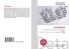 Bookcover of Yat Dialect
