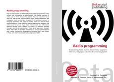 Capa do livro de Radio programming