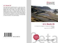 Bookcover of U.S. Route 26