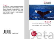 Bookcover of Rorqual