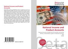 Bookcover of National Income and Product Accounts