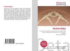 Bookcover of Shohei Baba
