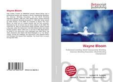 Portada del libro de Wayne Bloom