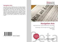 Bookcover of Navigation Acts