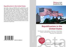 Capa do livro de Republicanism in the United States