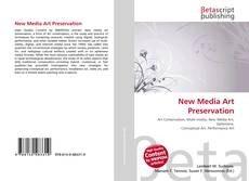 Bookcover of New Media Art Preservation
