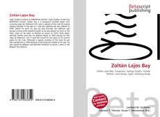 Bookcover of Zoltán Lajos Bay