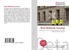 Bookcover of West Midlands (county)