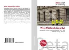 Buchcover von West Midlands (county)