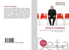Couverture de Write-in Candidate