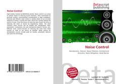 Capa do livro de Noise Control
