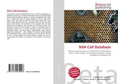 Copertina di NSA Call Database