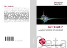 Bookcover of Wave Equation