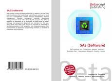 Bookcover of SAS (Software)