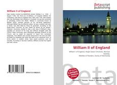 Copertina di William II of England