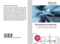 Couverture de Precipitation Hardening