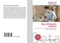 Bookcover of Xbox 360 System Software