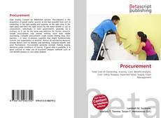 Bookcover of Procurement