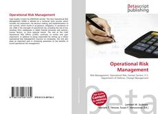 Bookcover of Operational Risk Management