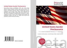 Copertina di United States border Preclearance
