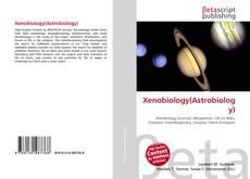 Xenobiology(Astrobiology) kitap kapağı