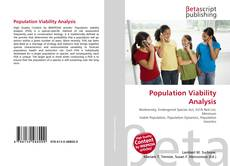 Обложка Population Viability Analysis
