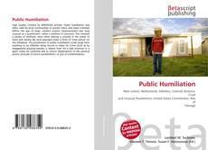 Обложка Public Humiliation