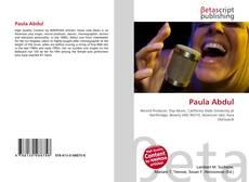 Capa do livro de Paula Abdul