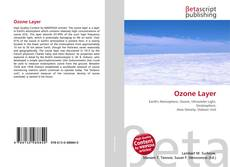 Couverture de Ozone Layer