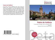 Pedro de Valdivia kitap kapağı