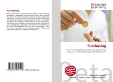 Bookcover of Purchasing