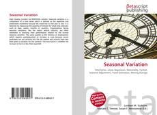 Bookcover of Seasonal Variation