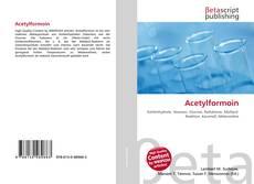 Acetylformoin kitap kapağı